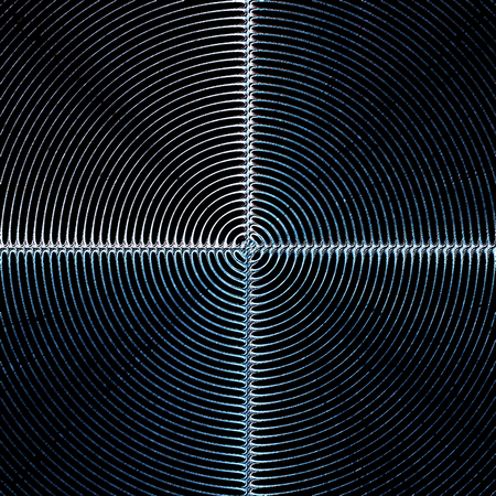 iron cross emblem: black background shield concentric circle lines pattern texture
