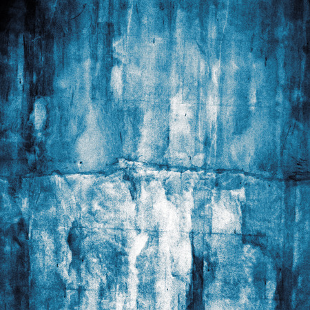 old blue wall texture grunge background photo