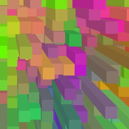 rainbow background block pattern texture photo