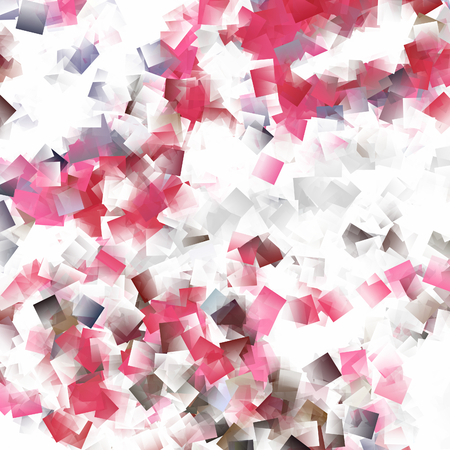 abstract background pink and white cubes pattern texture photo