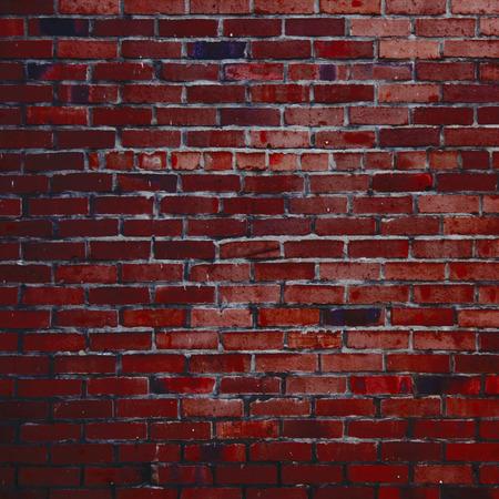red brick wall texture grunge background photo
