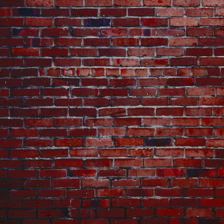 red brick wall texture grunge background photo
