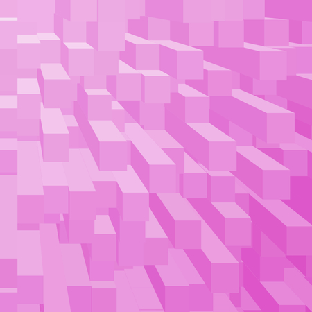 mana: abstract background pink cube pattern