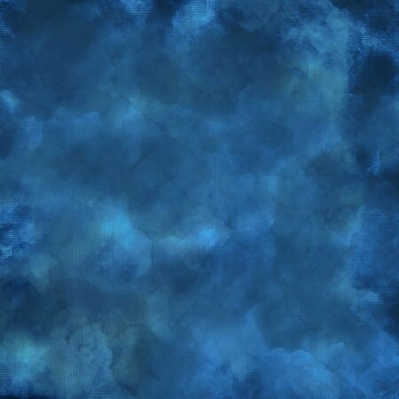 blue watercolor background - clouds pattern