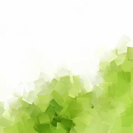 abstract green background - small squares in the corner 스톡 콘텐츠