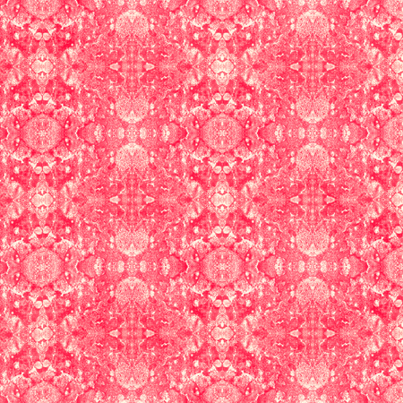 Abstract background, red doily, geometric pattern