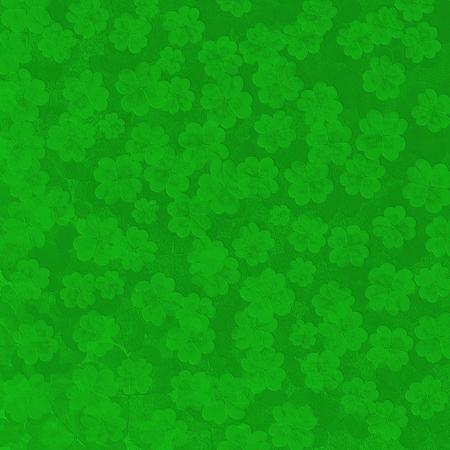 shamrocks: Scattered Shamrocks - St. Patricks Day background Stock Photo