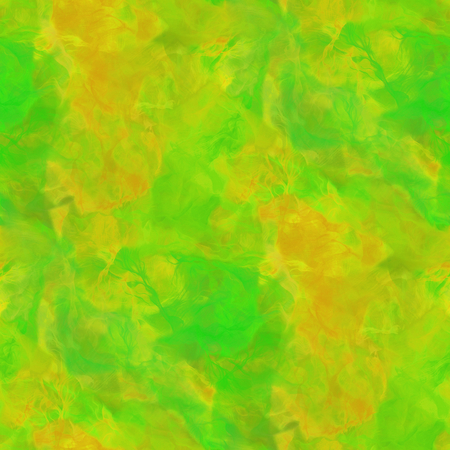Green background - abstract watercolor Stock Photo