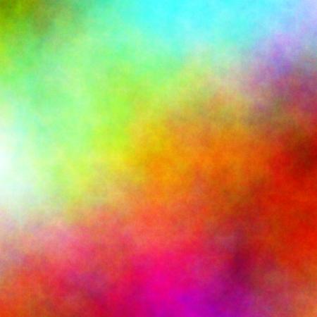 カラフルな水彩背景 写真素材