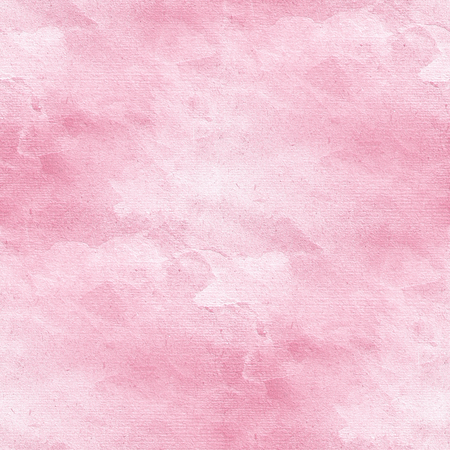 watercolor texture: pink watercolor texture - seamless tile Stock Photo