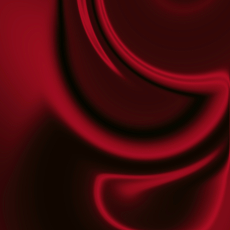 silky velvet: abstract waves, cloth or liquid, red modern background