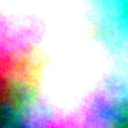 watercolor border - abstract background Stock Photo