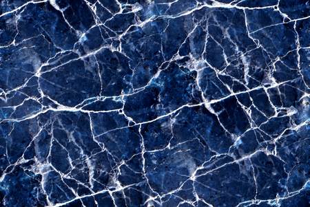 blue marble texture - abstract seamless background Stock Photo