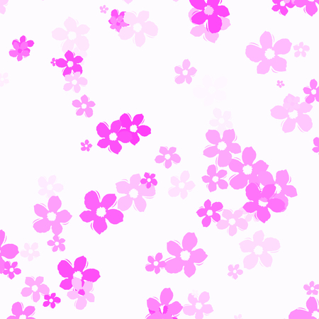 pink flowers - abstract background kids