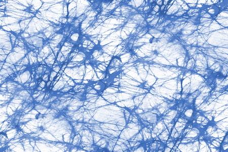 Texture de tissu bleue batik - fond transparent Banque d'images - 82663482