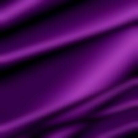 purple silk texture - abstract folds pattern Banco de Imagens