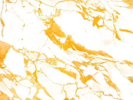 White marble with golden veins.