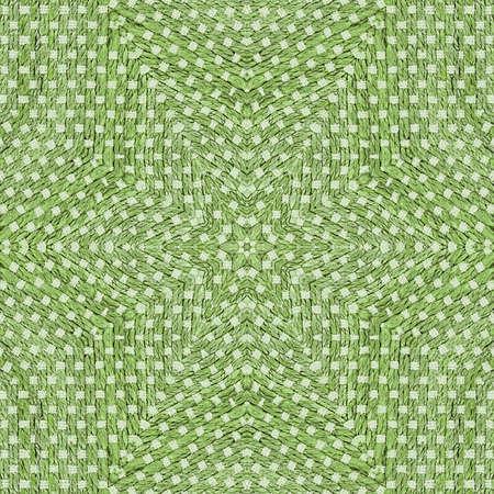Sisal, sumac or jute rug. Geometric pattern. Banco de Imagens