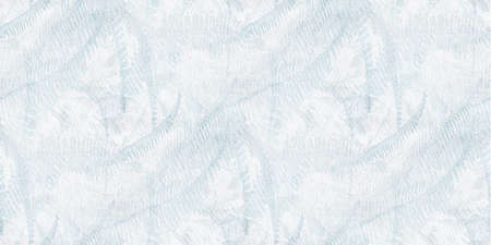 Winter background with frost on the window. Abstract pattern.