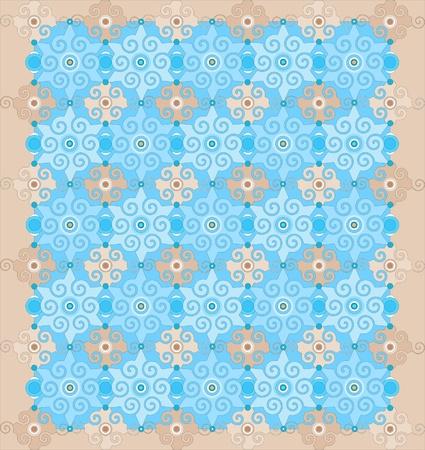 orientalische muster: Orientalische Muster Illustration