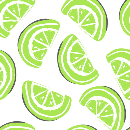 Grapefruit and exotic fruits seamless pattern. Fresh grapefruit tropical fruits summer detox.