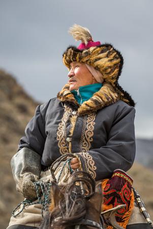 BAYAN ULGII, MONGOLIA - CIRCA OCTOBER 2015: