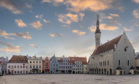 Tallinn, Estonia, 18th March, 2021, empty streets of Tallinn during Covid Pandemic lockdown Sajtókép