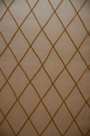 criss cross: Beige and gold criss cross pattern