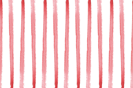 Background with hand painted watercolor stripes