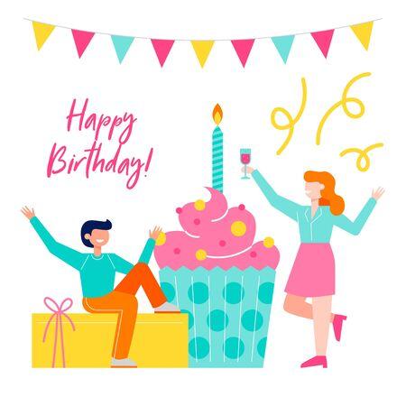 20 044 Happy Man Birthday Stock Vector Illustration And Royalty Free Happy Man Birthday Clipart
