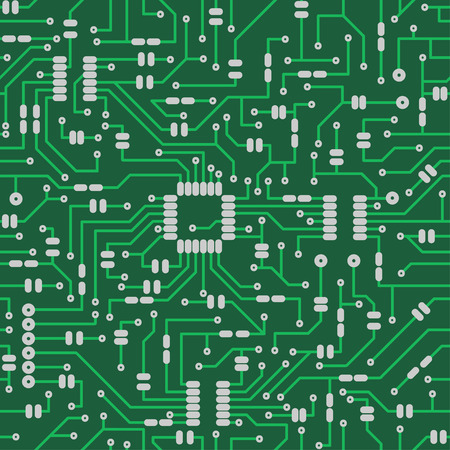 electronic board: Electronic board. Seamless pattern. Illustration