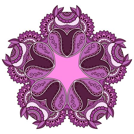 mandala: Vector color mandala Illustration