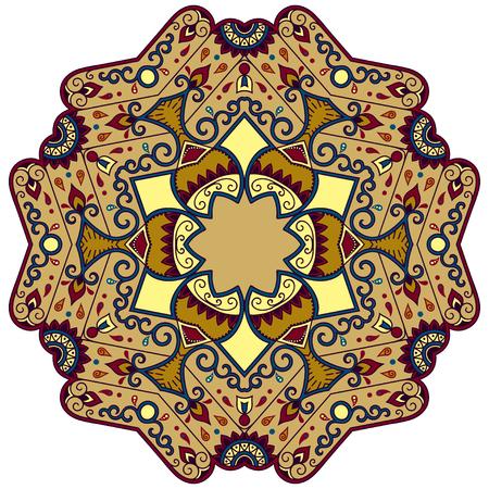mandala: Vector color mandala.