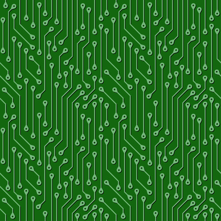 Abstract background of digital components. Illustration
