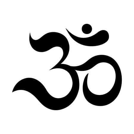 triad: The symbol of the divine triad of Brahma, Vishnu and Shiva.