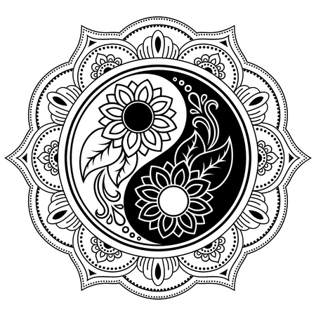 5358 Yin Yang Zen Stock Vector Illustration And Royalty Free Yin