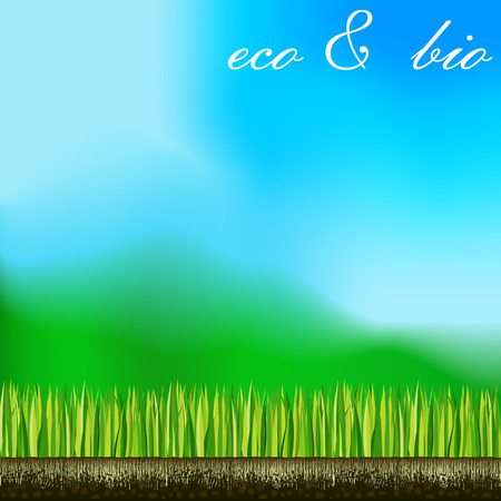 biology nature green space lawn plants landscapes Vector