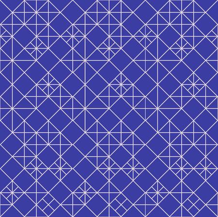 interweaving: seamless con intreccio di linee sottili. Semplice illustrazione astratta ornamentale