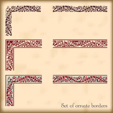 modular: Corners and modular borders to create frames at any size