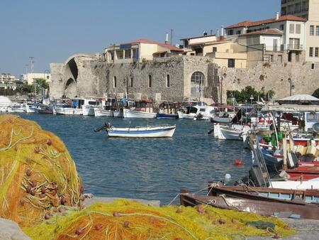 kreta: Heraklion Hafen und in den Hafen der Insel Kreta, Griechenland