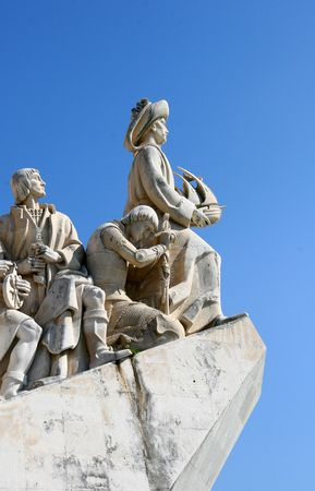discoveries: Monument to the Discoveries in the Belem district of Lisbon, Portugal