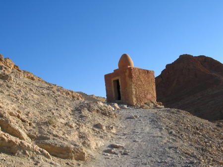 Small old building in tunisian mountains, Tunisia Stock Photo - 17062530