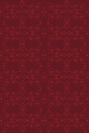 claret: Red pattern on claret color