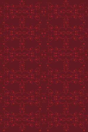 claret: Red pattern on claret color