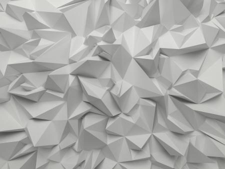 poligonos: fondo abstracto cristalizado blanco