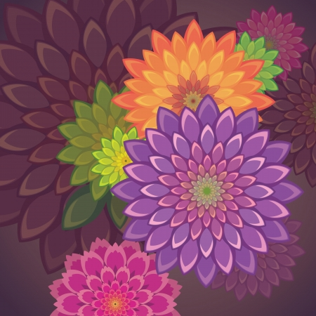 flower background Stock Vector - 15756094