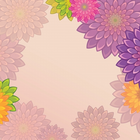 bright flower background Stock Vector - 15756093