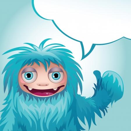 yeti: message monster