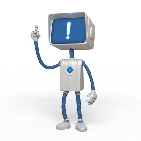 widget: robot solution Stock Photo