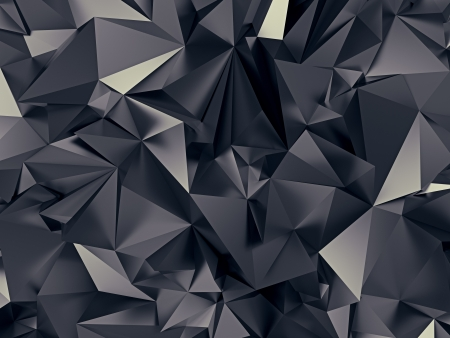 high contrast: black diamond crystal texture